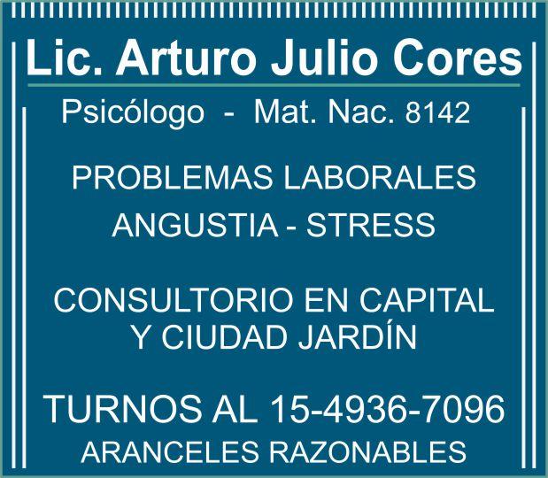 LIC .CORES ARTURO
