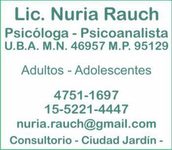 LIC. RAUCH NURIA