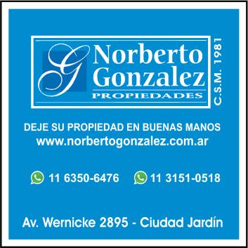 NORBERTO GONZALEZ PROPIEDADES
