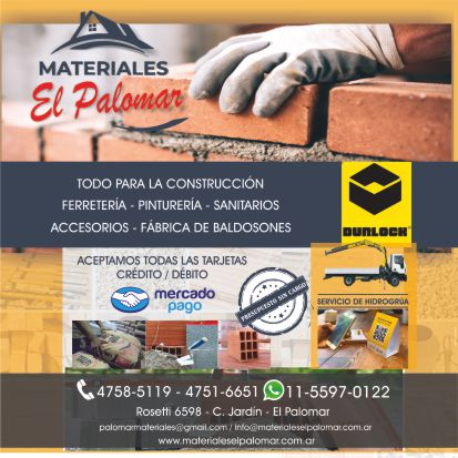 MATERIALES EL PALOMAR