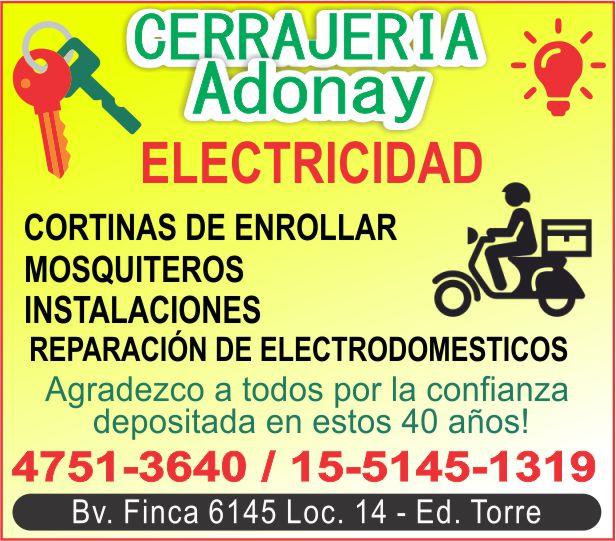 CERRAJERIA ADONAY