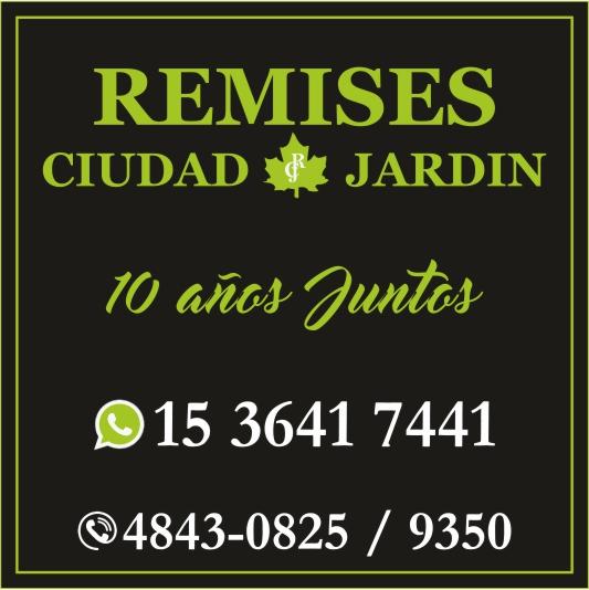 REMIS CIUDAD JARDIN