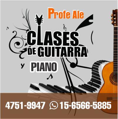 CLASES DE GUITARRA ARGUELLO