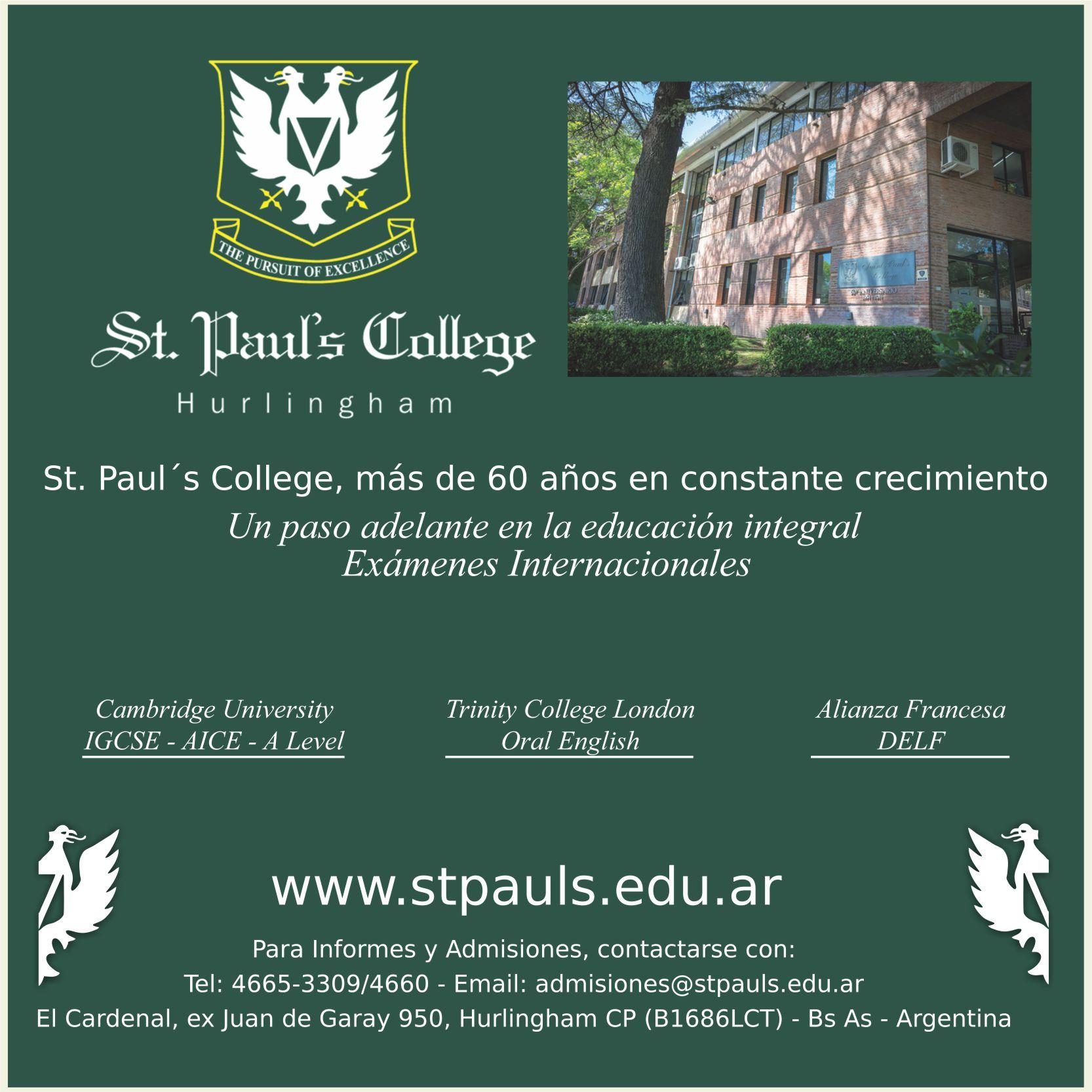 ST PAUL COLLEGE