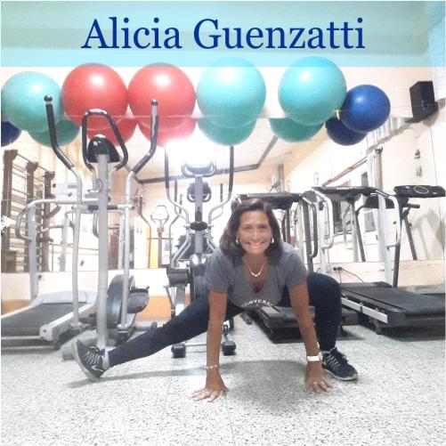 Lic Profesora Nacional de Educación Física Alicia Guenzatti