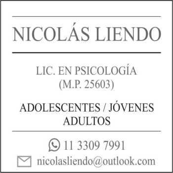 Lic Nicolas Liendo